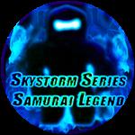 Roblox Ninja Legends - Badge Skystorm Series Samurai Legend