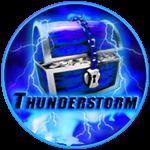 Roblox Ninja Legends - Badge Thunderstorm