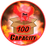 Roblox Ninja Legends - Shop Item +100 Capacity