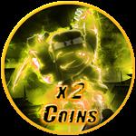 Roblox Ninja Legends - Shop Item x2 Coins