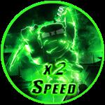 Roblox Ninja Legends - Shop Item x2 Speed