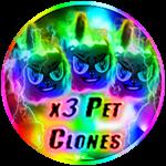 Roblox Ninja Legends - Shop Item x3 Pet Clones