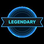 Roblox Outlaster - Badge Legendary