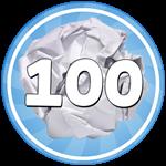 Roblox Paper Ball Simulator - Badge 😴Sleepy Thrower😴