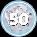 Roblox Paper Ball Simulator - Badge 😴Throwing Noob😴