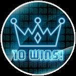 Roblox RB Battles - Badge 10 Wins!
