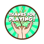 Roblox RB Battles - Badge Thanks for playing!