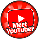 Roblox Robot Simulator - Badge Meet a YouTuber