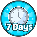 Roblox Robot Simulator - Badge [Robot Simulator] 7 Days