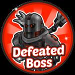Roblox Robot Simulator - Badge [Robot Simulator] Defeated Robotic Boss