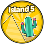 Roblox Robot Simulator - Badge [Robot Simulator] Desert Island