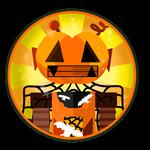 Roblox Robot Simulator - Badge [Robot Simulator] Halloween Class