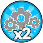 Roblox Robot Simulator - Shop Item x2 Cogs