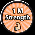 Roblox Saber Simulator - Badge 1 M Strength