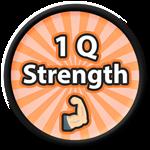 Roblox Saber Simulator - Badge 1 Q Strength