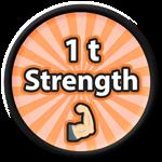 Roblox Saber Simulator - Badge 1 t strength