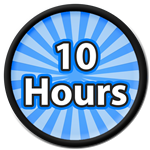 Roblox Saber Simulator - Badge 10 Hours