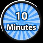 Roblox Saber Simulator - Badge 10 Minutes