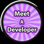 Roblox Saber Simulator - Badge Meet A Developer