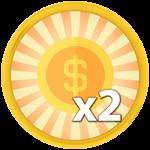 Roblox Saber Simulator - Shop Item x2 Coins