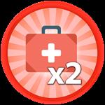Roblox Saber Simulator - Shop Item x2 Health