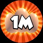 Roblox Science Simulator - Badge 1M Eggs 2
