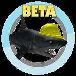 Roblox SharkBite - Badge Beta Shark