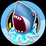 Roblox SharkBite - Badge Eggraging egg of the sea