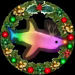 Roblox SharkBite - Badge RGB Shark