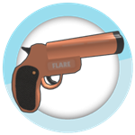 Roblox SharkBite - Shop Item Flare gun