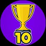 Roblox Shoot Out - Badge Won 10 Games