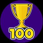 Roblox Shoot Out - Badge Won 100 Games
