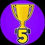 Roblox Shoot Out - Badge Won 5 Games