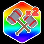 Roblox Smash Legends - Shop Item Dual Wield Hammers