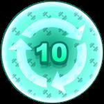 Roblox Strongman Simulator - Badge Rebirth - 10