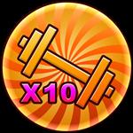 Roblox Strongman Simulator - Shop Item X10 Workout Speed