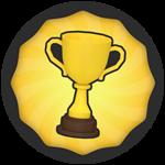 Roblox Super Golf - Badge 10 Wins!