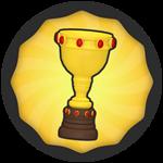 Roblox Super Golf - Badge 100 Wins!