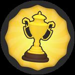 Roblox Super Golf - Badge 50 Wins!
