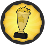 Roblox Super Golf - Badge 500 Wins!