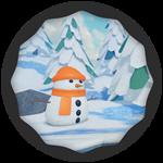 Roblox Super Golf - Badge Arctic Win!