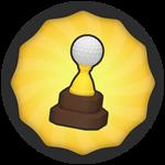 Roblox Super Golf - Badge First Win!