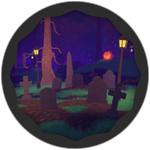 Roblox Super Golf - Badge Graveyard Win!