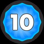 Roblox Super Golf - Badge Level 10!