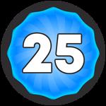 Roblox Super Golf - Badge Level 25!