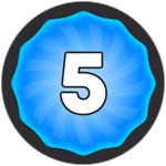 Roblox Super Golf - Badge Level 5!