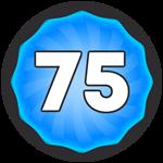 Roblox Super Golf - Badge Level 75!