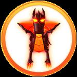 Roblox Super Power Fighting Simulator - Badge Volcagon Boss Defeated