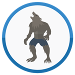 Roblox Super Power Fighting Simulator - Badge Werewolf Fusion