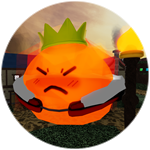 Roblox Tower Heroes - Badge Defeat the Fire Slime King!